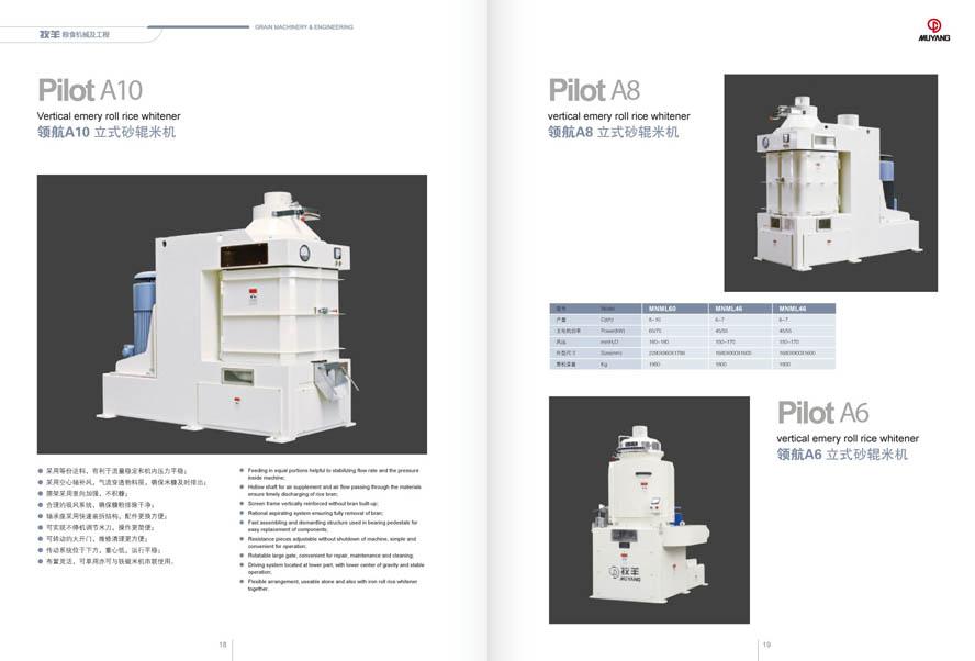 牧羊集团粮食机械产品样本设计插图(3)