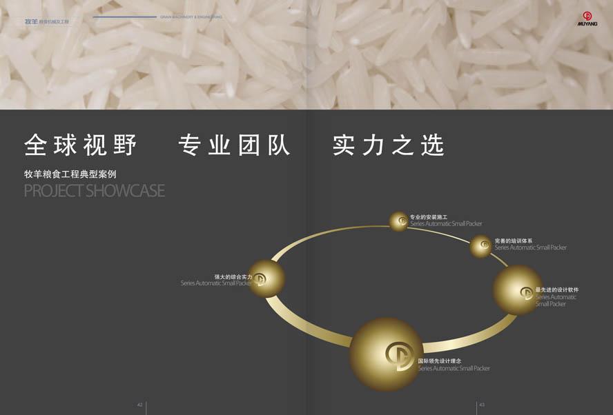 牧羊集团粮食机械产品样本设计插图(2)