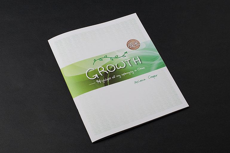 青年成长手册设计插图
