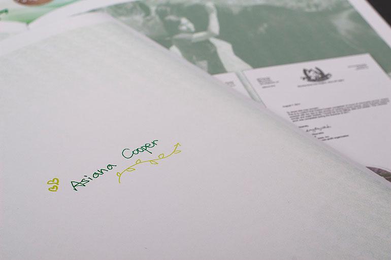 青年成长手册设计插图(2)