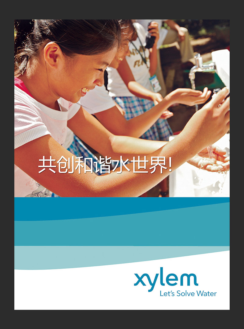 Xylem赛莱默(中国)海报 /样册设计插图(2)